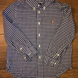 Ralph Lauren Checkered Plaid Shirt